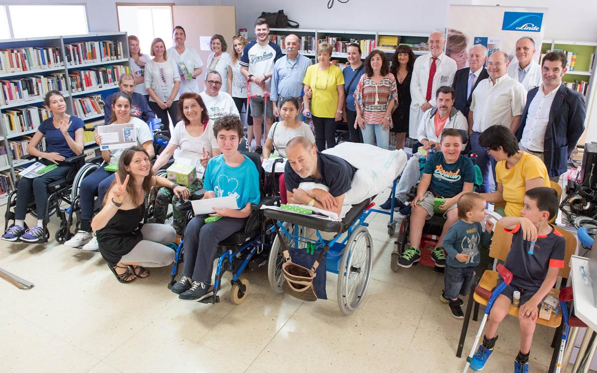 Entrega de premios del concurso literario del Hospital Nacional de Parapléjicos.