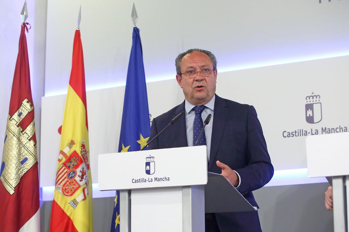 Rueda de prensa de Juan Alfonso Ruiz Molina.
