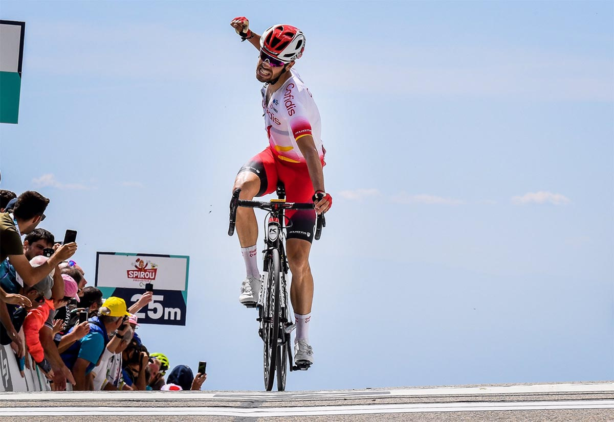 Jesús Herrada (cuando ganó el Mount Verdoux), fue bronce en el Campeonato de España