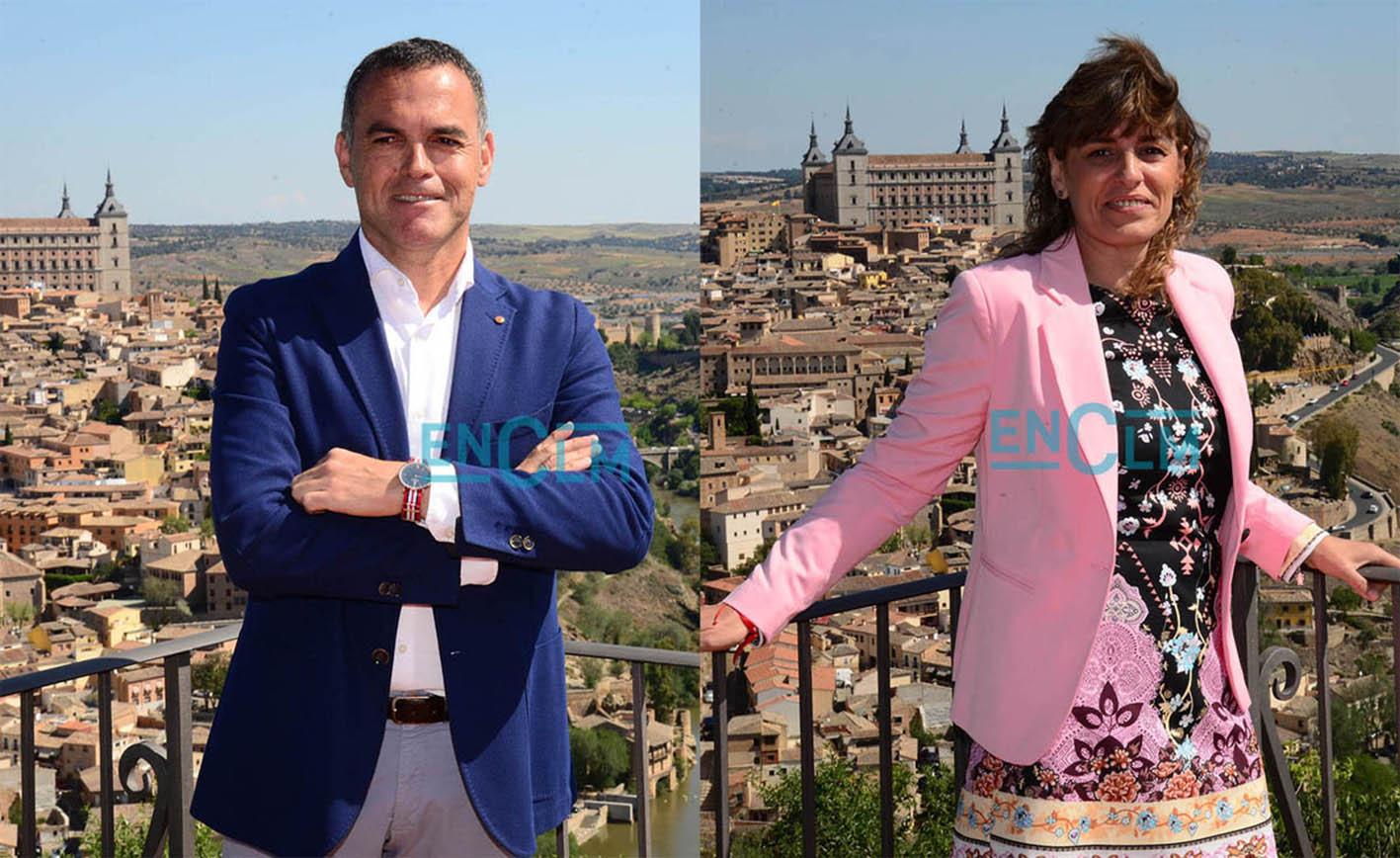 Ramón Lorente y Ana Belén Abellán serán, a partir de la próxima semana, concejales de Toledo.