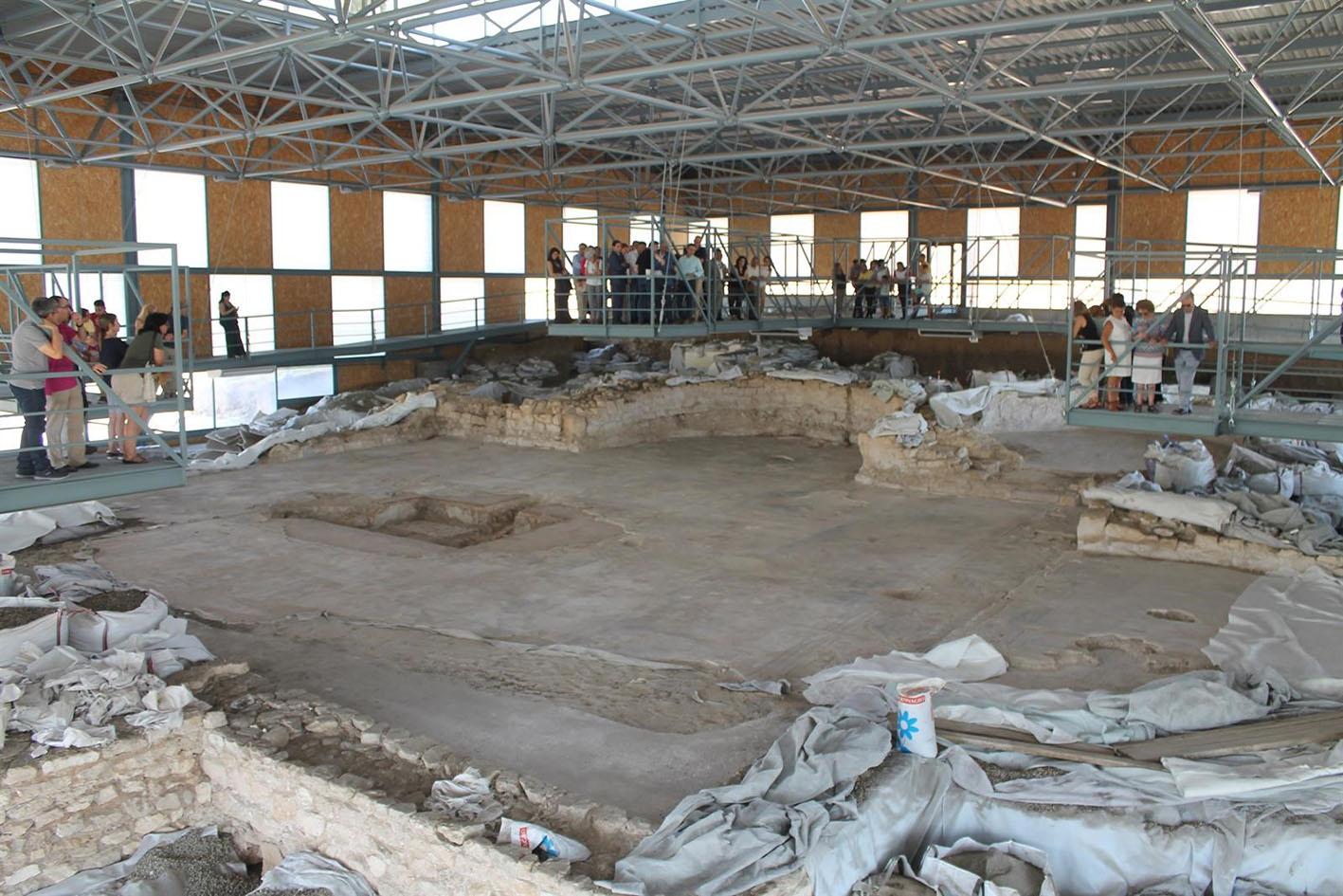 El yacimiento arqueológico de Noheda, una maravilla en la provincia de Cuenca.