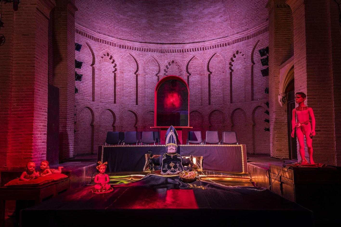 La exposición Pederoclastia se puede ver en el Círculo de Arte de Toledo.