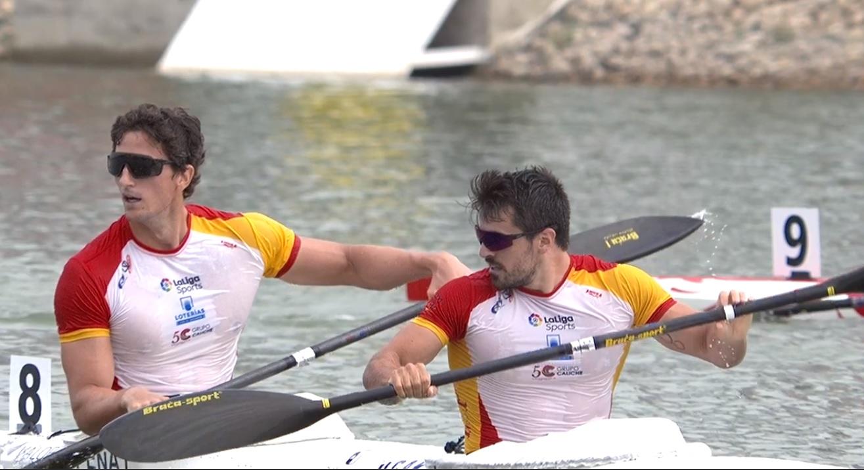 Paco Cubelos e Íñigo Peña, plata en el Mundial y billete para Tokio