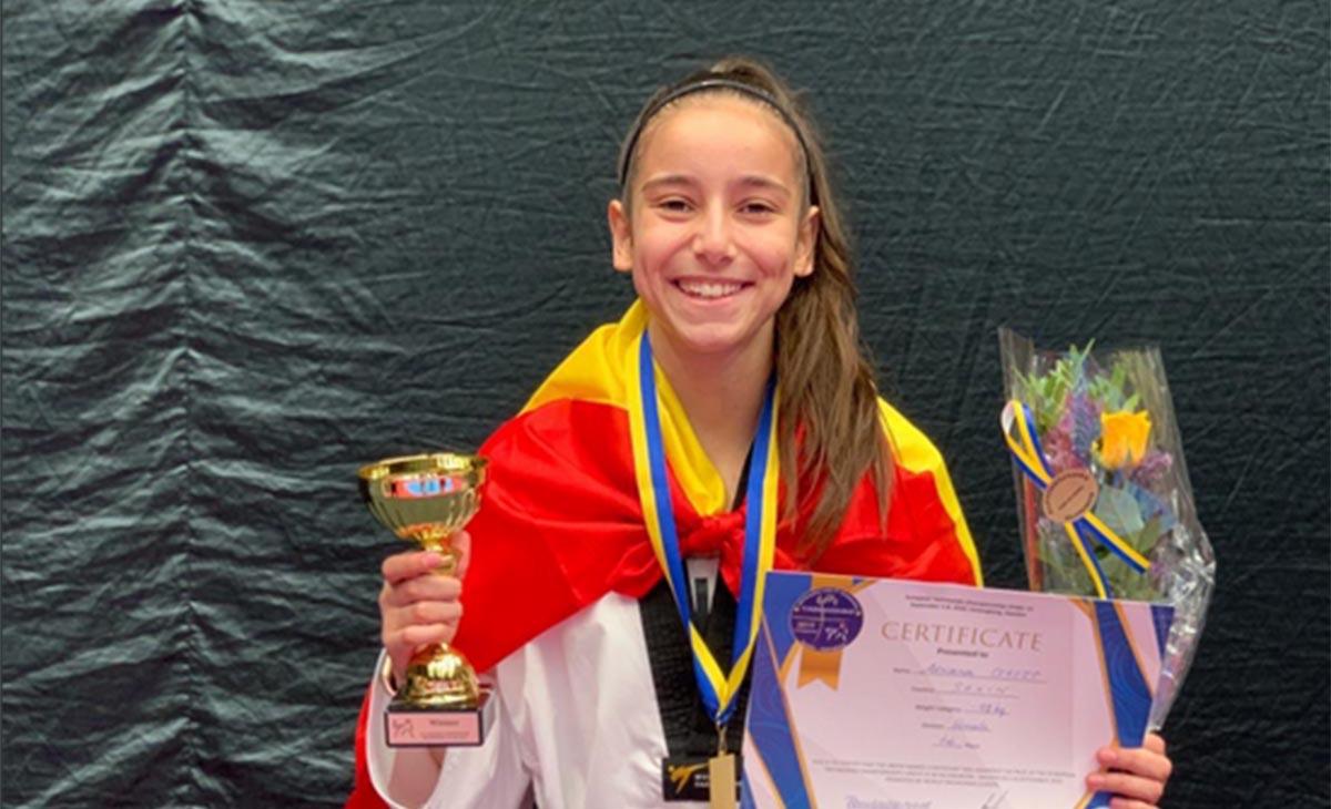 Adriana Cerezo, la mejor taekwondista de Europa sub 21