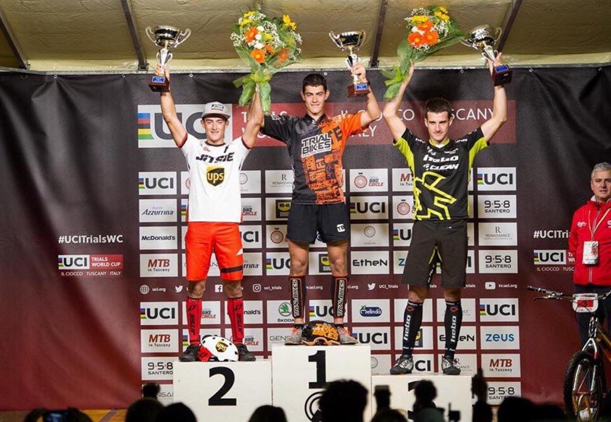 Alejandro Montalvo, en la élite mundial del trial bici