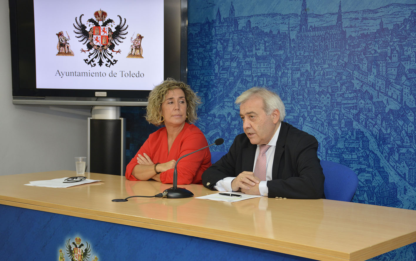 Marta Medina y Juanjo Pérez del Pino.