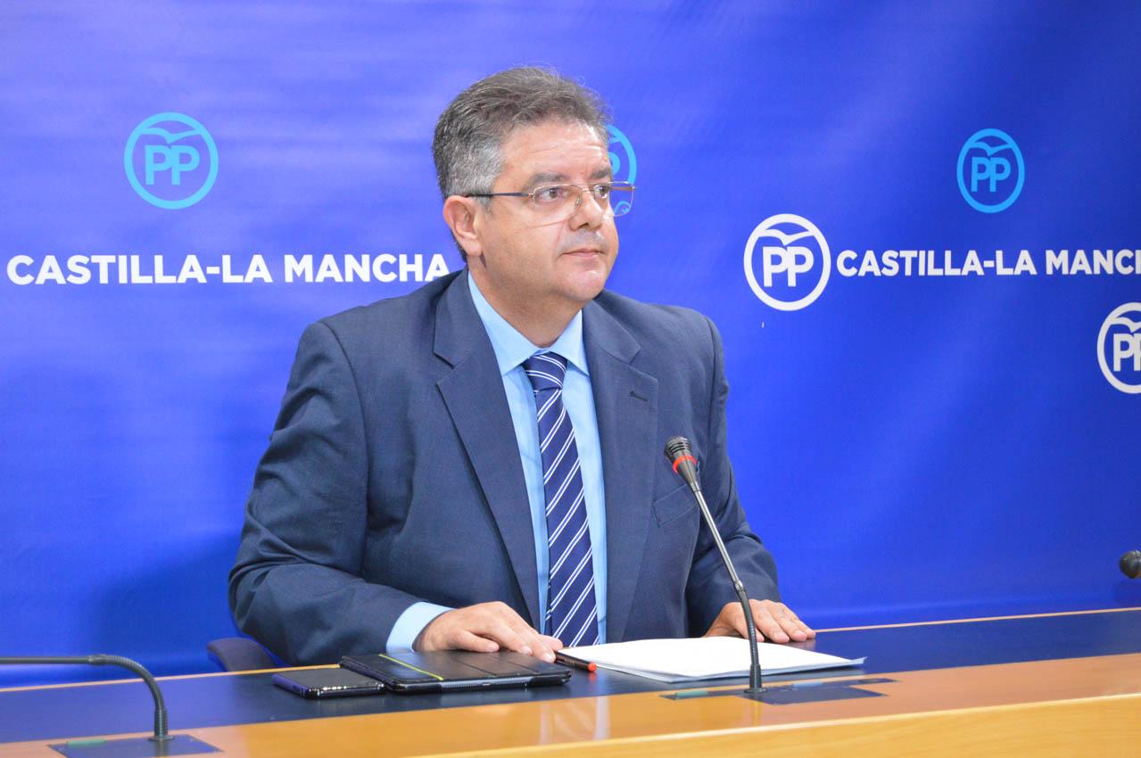 Juan Antonio Moreno, diputado del PP en las Cortes de CLM.