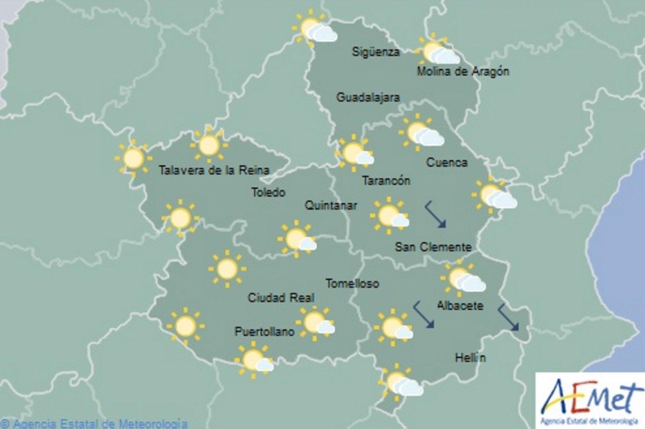 Subida de temperaturas en CLM.