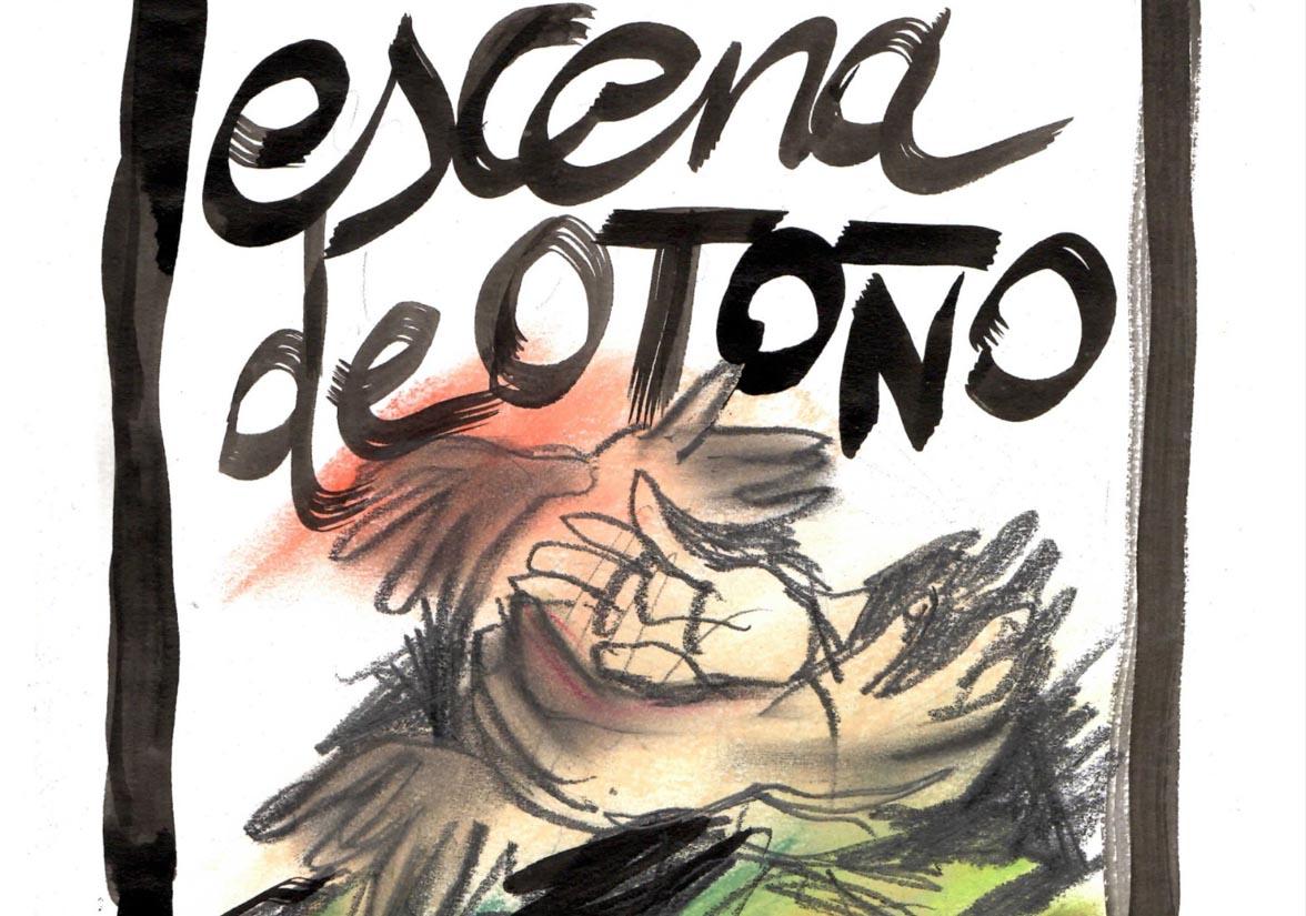 """Cartel de """"Escenas de Otoño"""""""