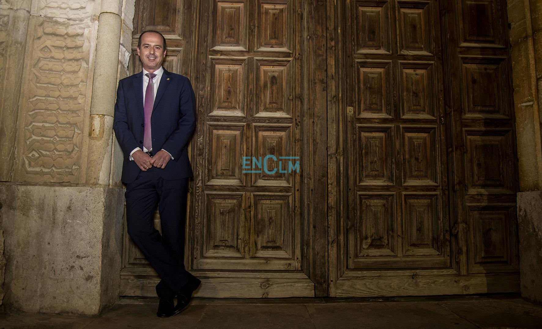 """Alberto Rojo, alcalde de Guadalajara, protagonizará el """"Espacio Reservado"""" de encastillalamancha.es."""