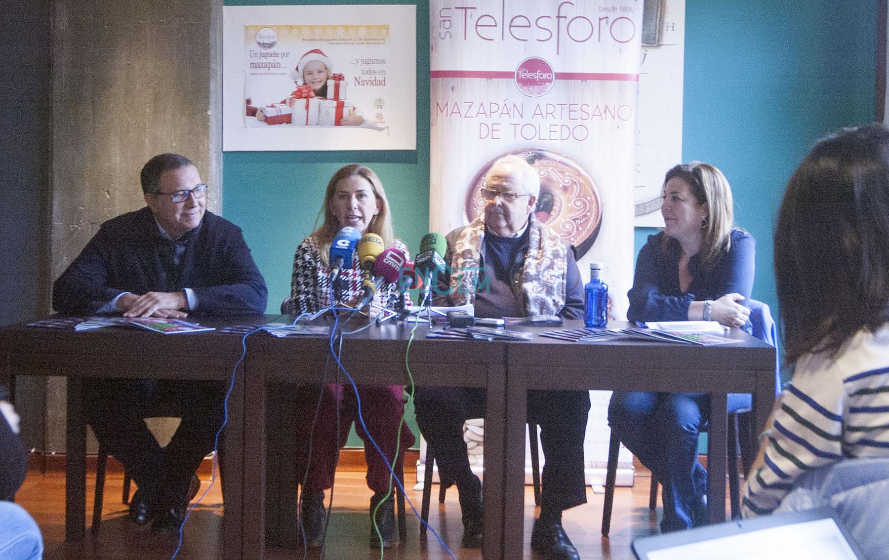 Presentación de la campaña solidaria de San Telesforo.