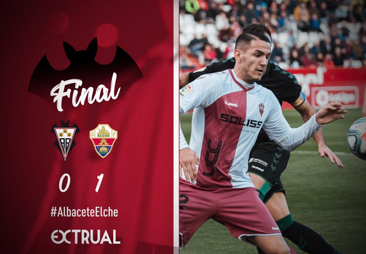 El Albacete pinchó contra el Elche en casa