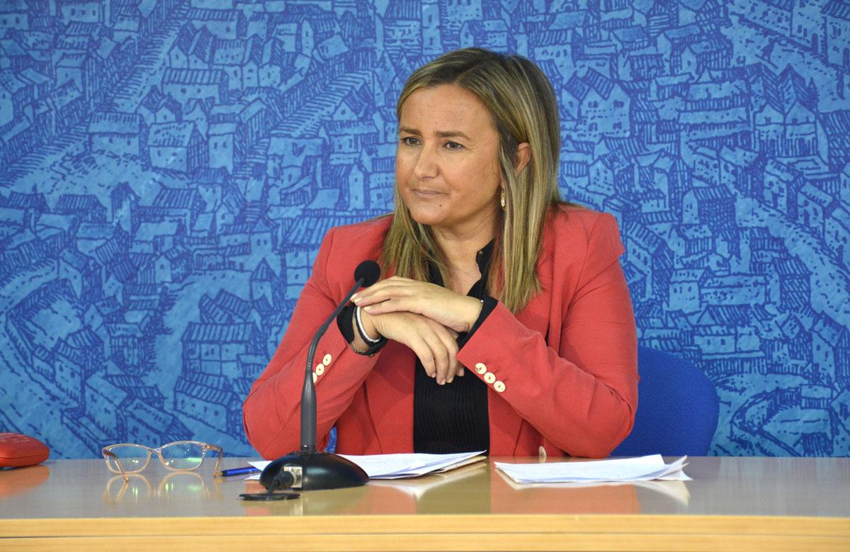 Rueda de prensa de Maite Puig, concejal de Festejos.