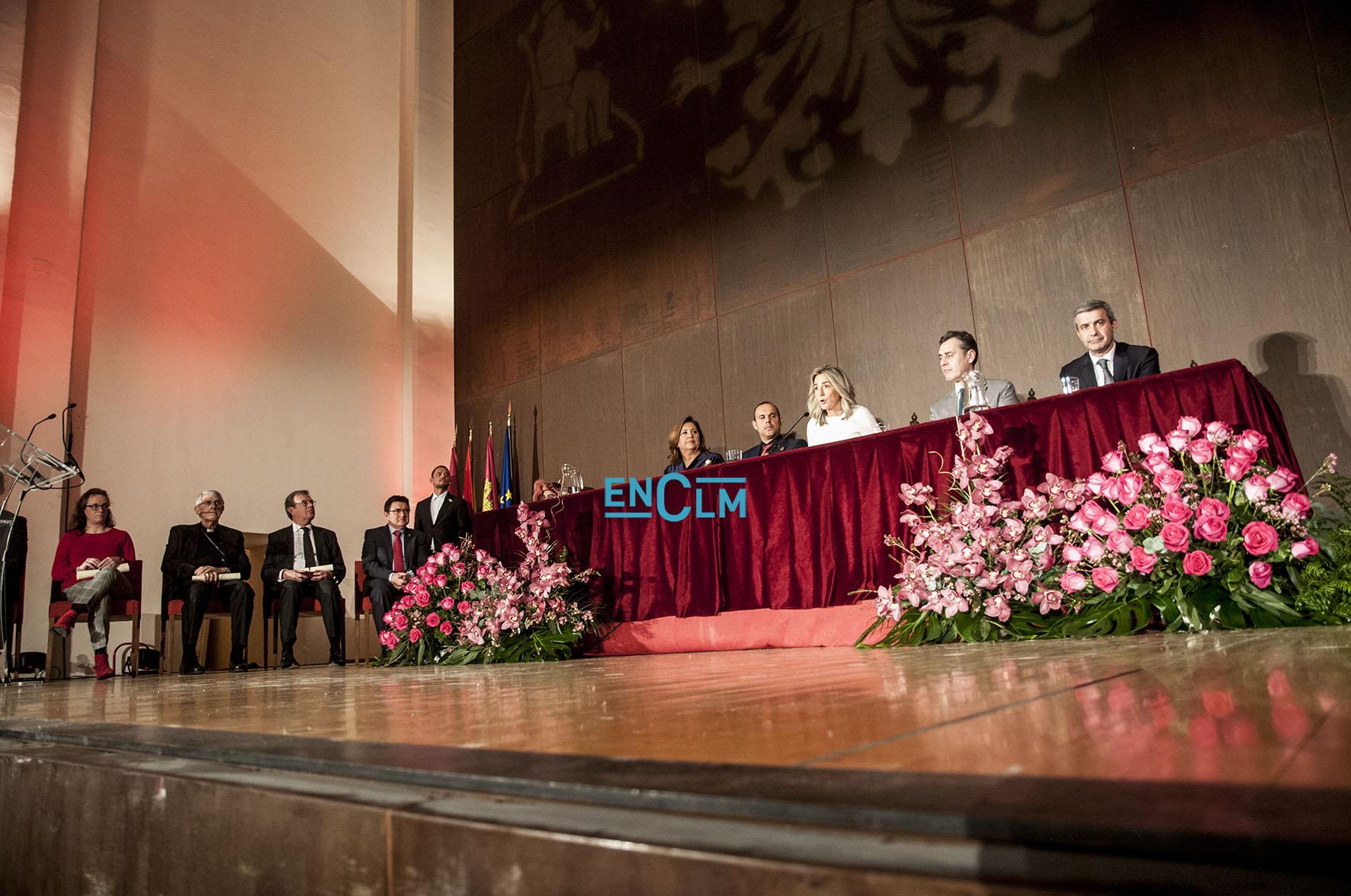 Los Honores y Distinciones de la ciudad de Toledo llenaron de emoción el centro cultural San Marcos.