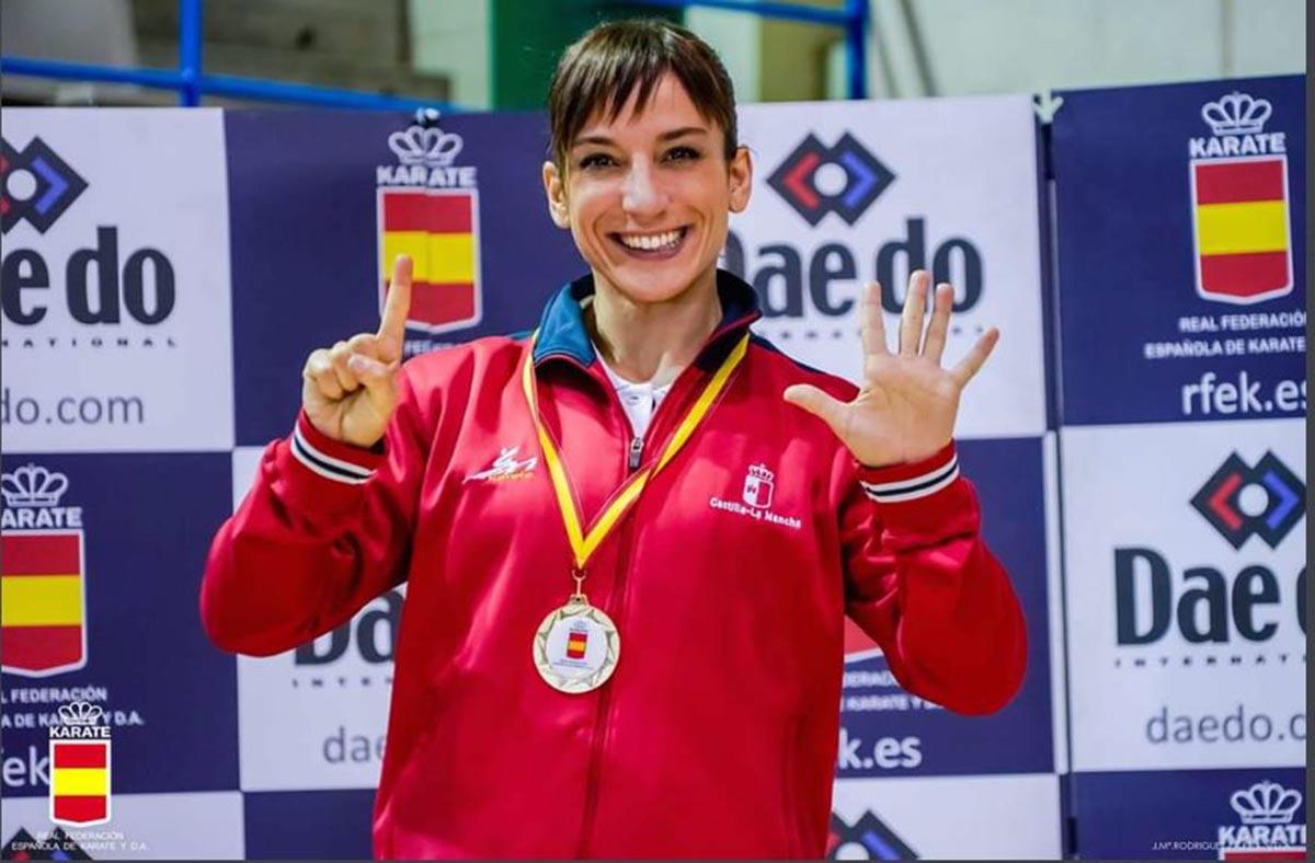 Sandra Sánchez logró su sexto título nacional seguido