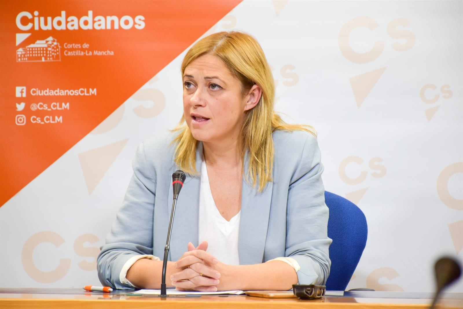 Carmen Picazo, portavoz de Ciudadanos, en una foto de archivo