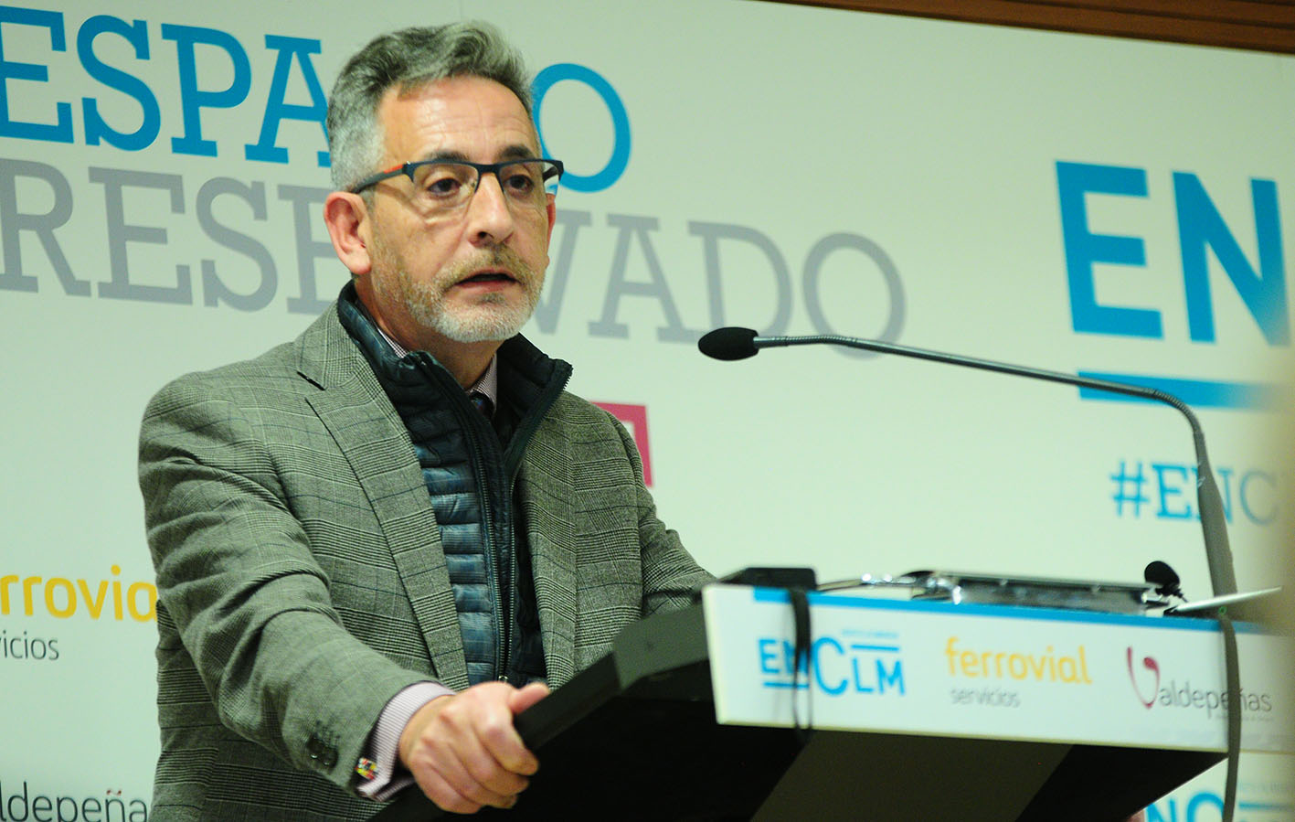 El alcalde de Valdepeñas, Jesús Martín, en Espacio Reservado de ENCLM.