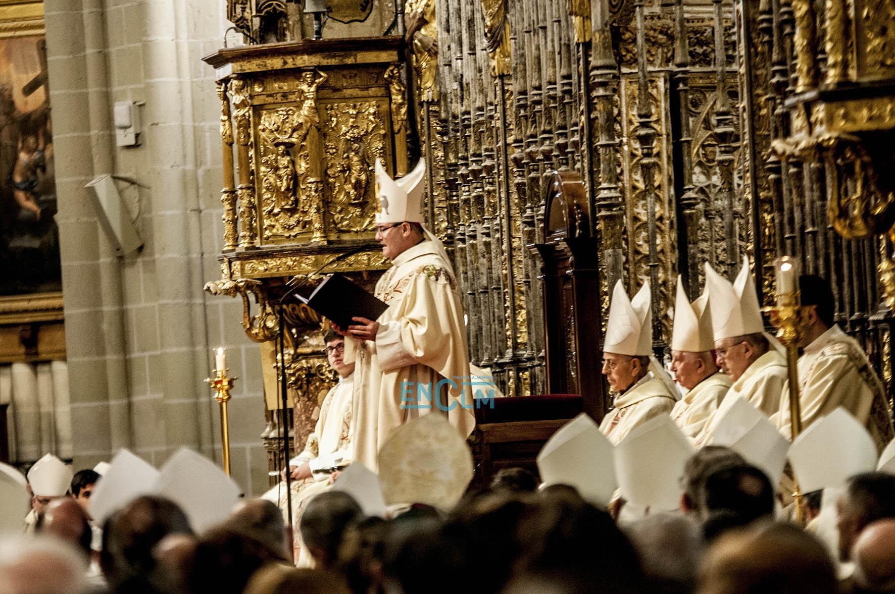 Eucaristía en la Catedral de Toledo.