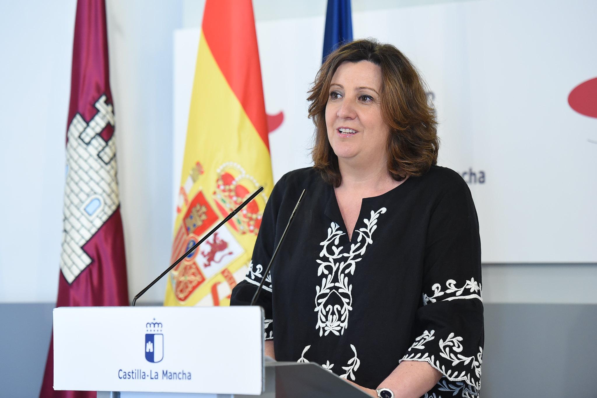 La consejera de Economía, Empresas y Empleo, Patricia Franco.