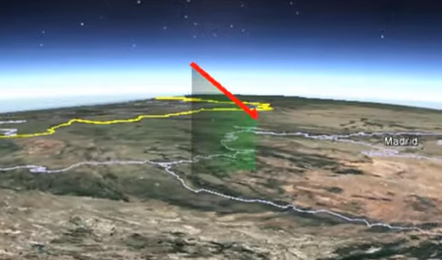 La bola de fuego fue visible hasta de 500 kilómetros de distancia.