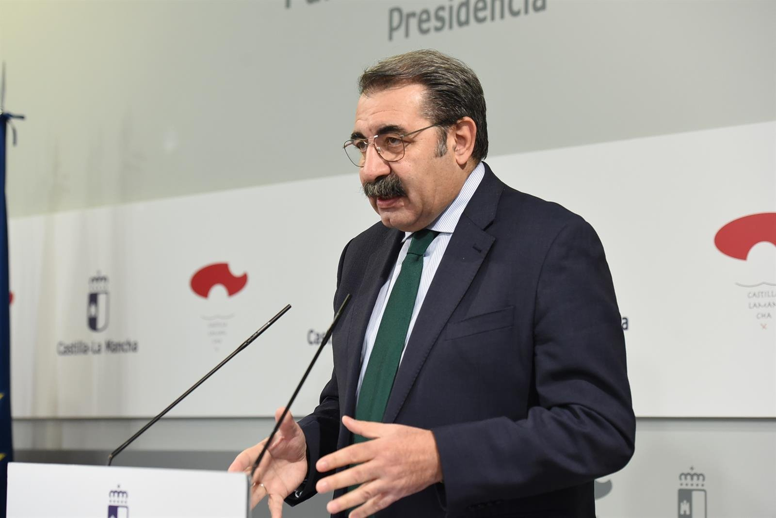 El consejero de Sanidad de Castilla-La Mancha, Jesús Fernández Sanz.