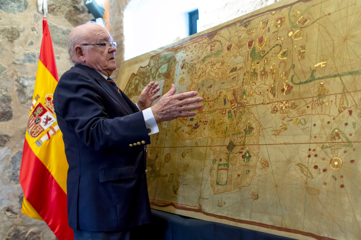 Copia de la Carta de Juan de la Cosa.