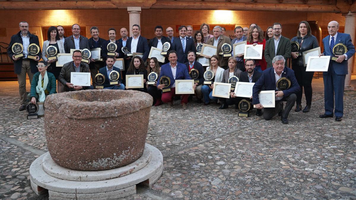 Entrega de los XXXIII Premios del Consejo Reguladora de la DO La Mancha.