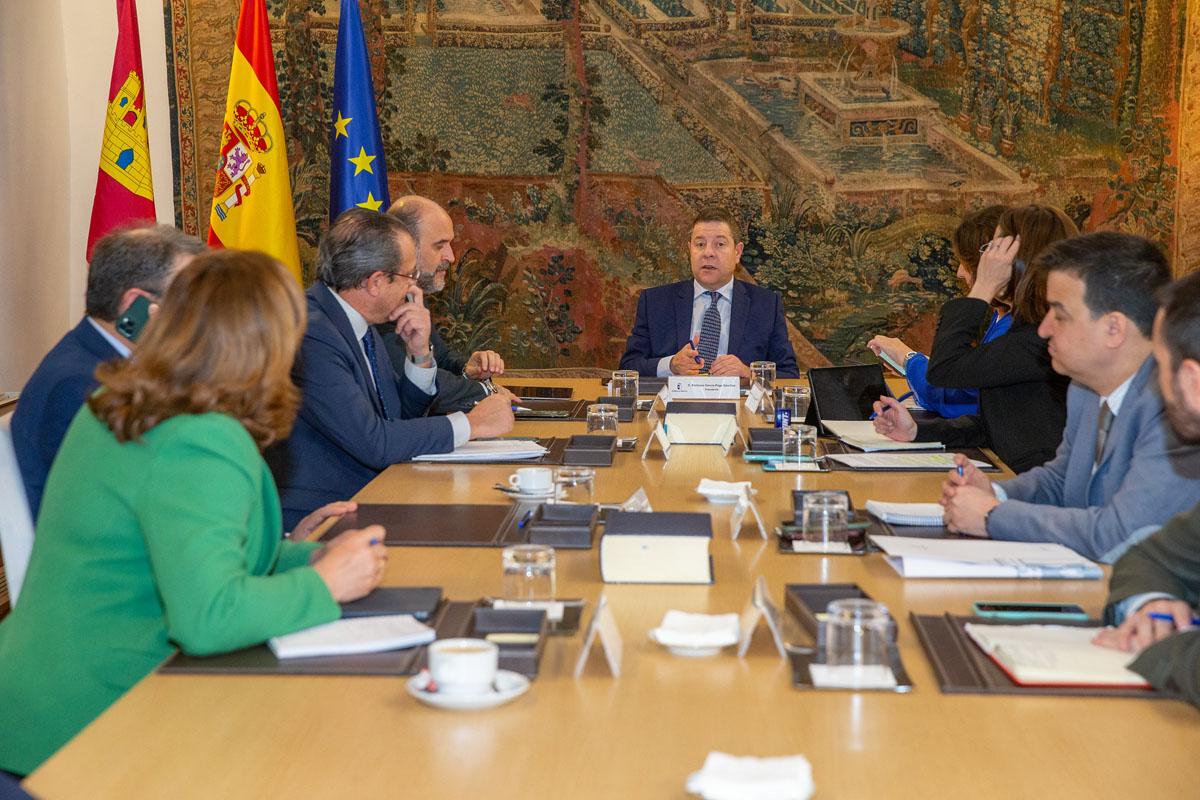 Reunión del Consejo de Gobierno Extraordinario.