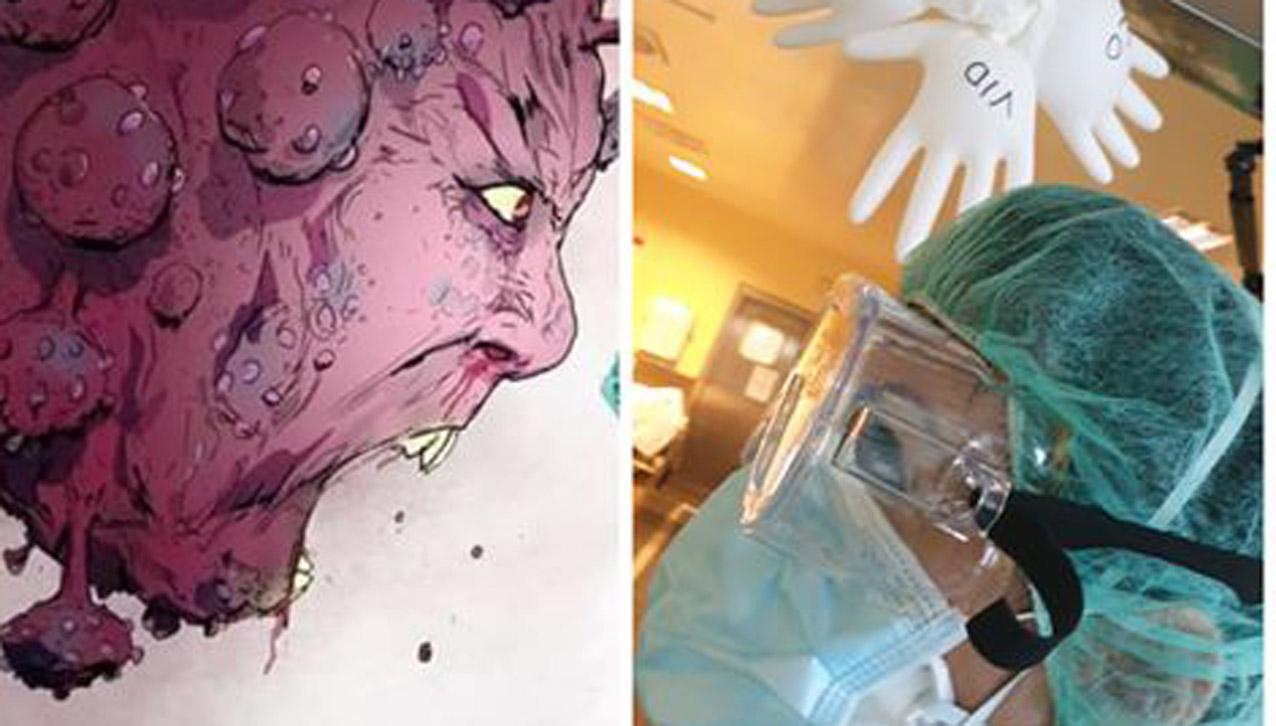 Nuestros sanitarios, plantando cara al maldito coronavirus. Como en el video que les mostramos y que seguro que le emocionará.