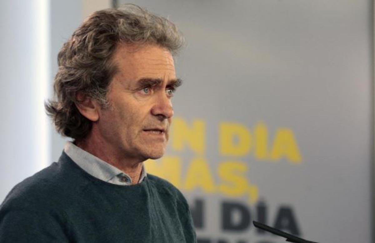 Fernando Simón, avanzando que queda poco para que Toledo, Ciudad Real y Albacete pasen a la fase 1