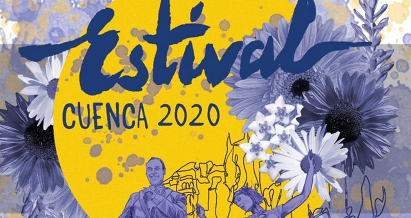 Cartel de Estival Cuenca 2020.