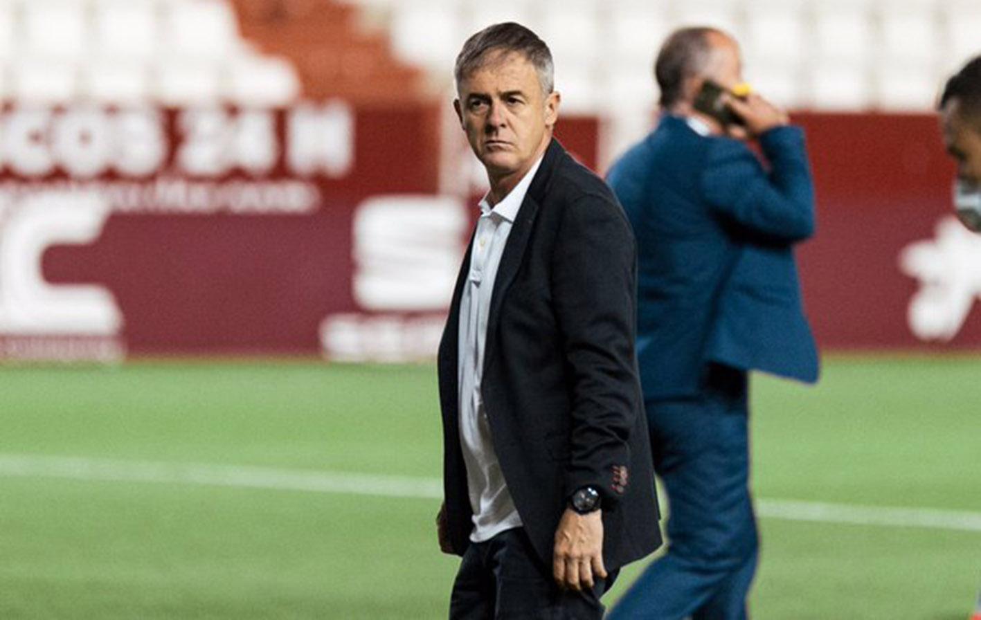 Lucas Alcaraz, técnico del Albacete.