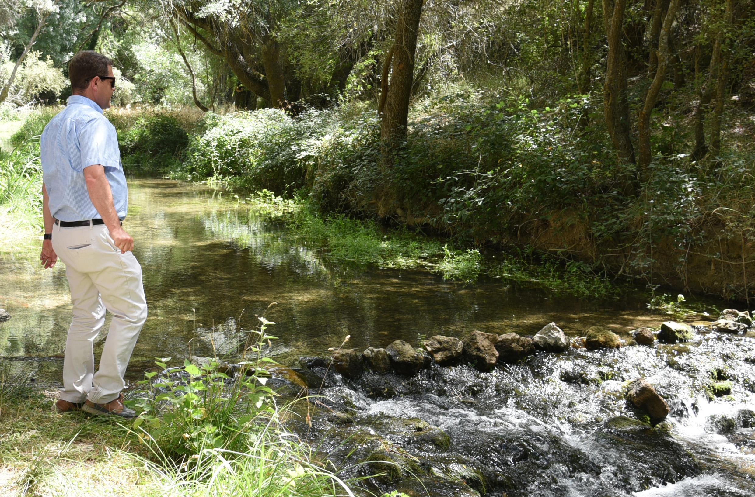 Page en Las Lagunas de Ruidera