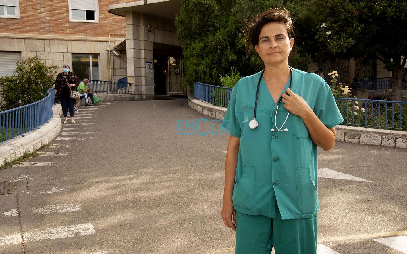 María José Sánchez Carretero, jefa del Servicio de Medicina Intensiva del Complejo Hospitalario de Toledo