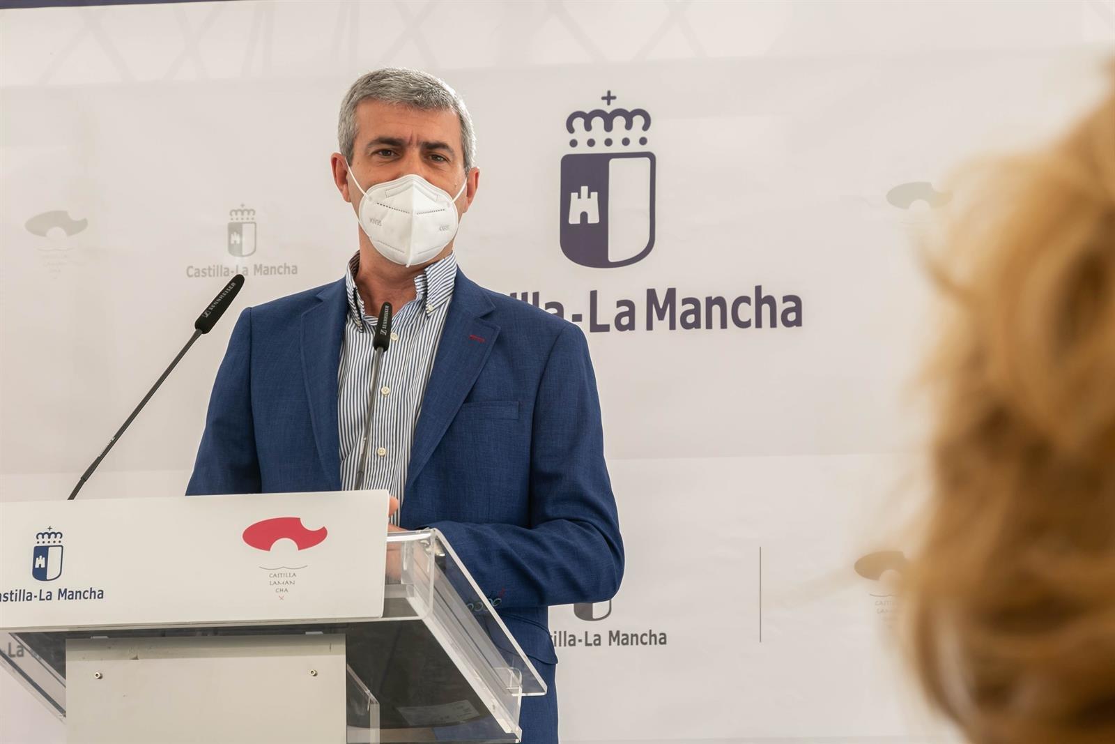 El presidente de la Diputación de Toledo, Álvaro Gutiérrez.