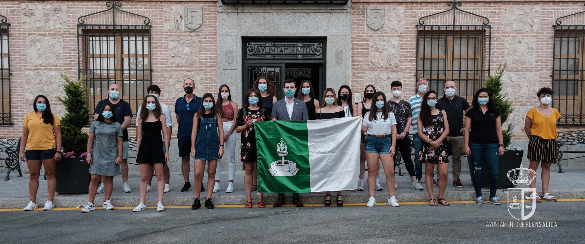 El Fuensalida Féminas fue recibido el lunes en el Ayuntamiento de la localidad.