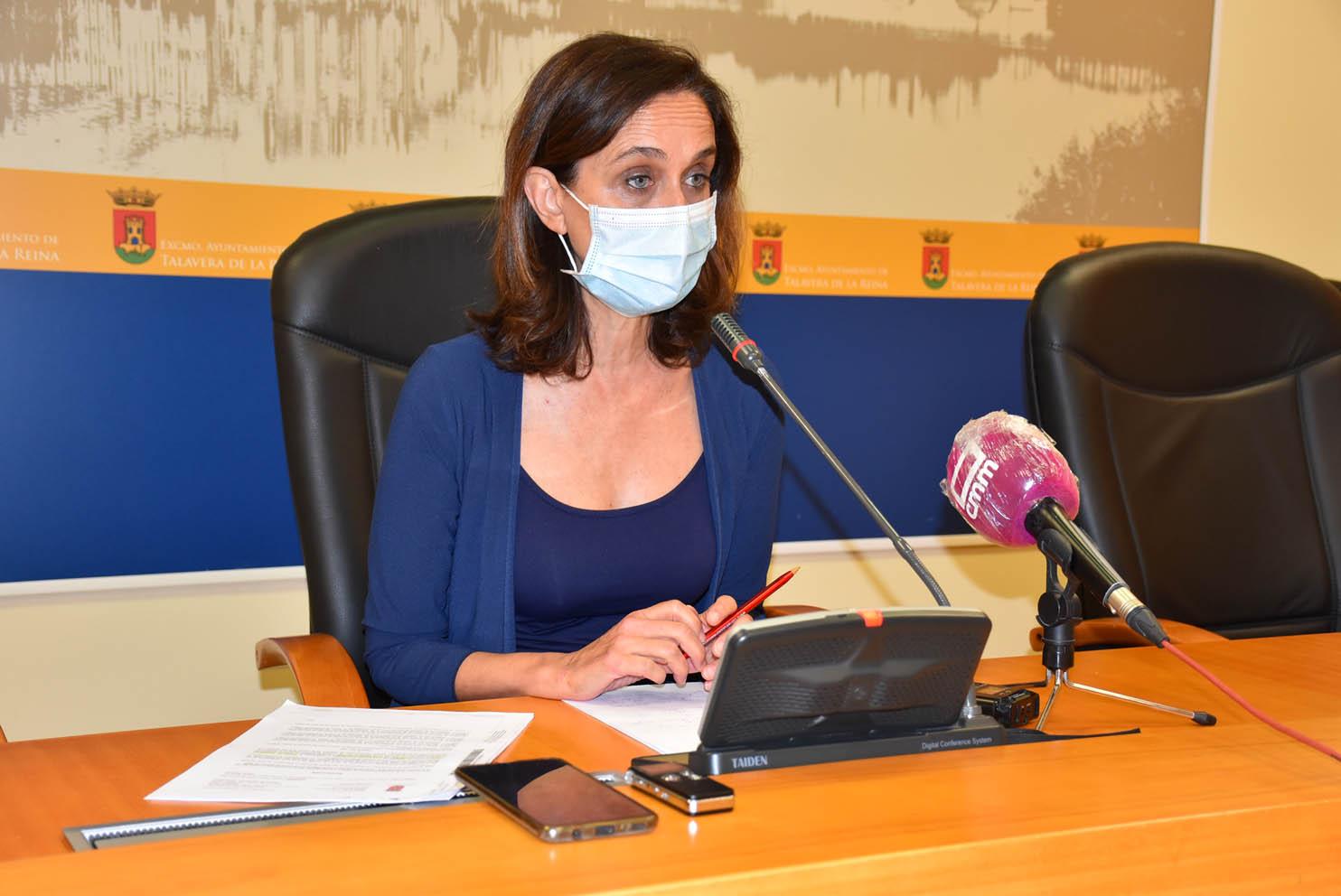 La portavoz del gobierno local, de Talavera, Flora Bellón