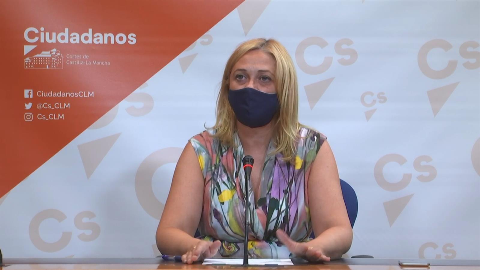 La portavoz de Ciudadanos, Carmen Picazo.