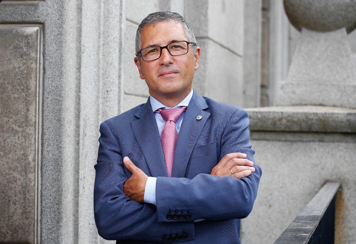 Hugo Morán, secretario de Estado de Medio Ambiente, se pronuncia sobre el Tajo