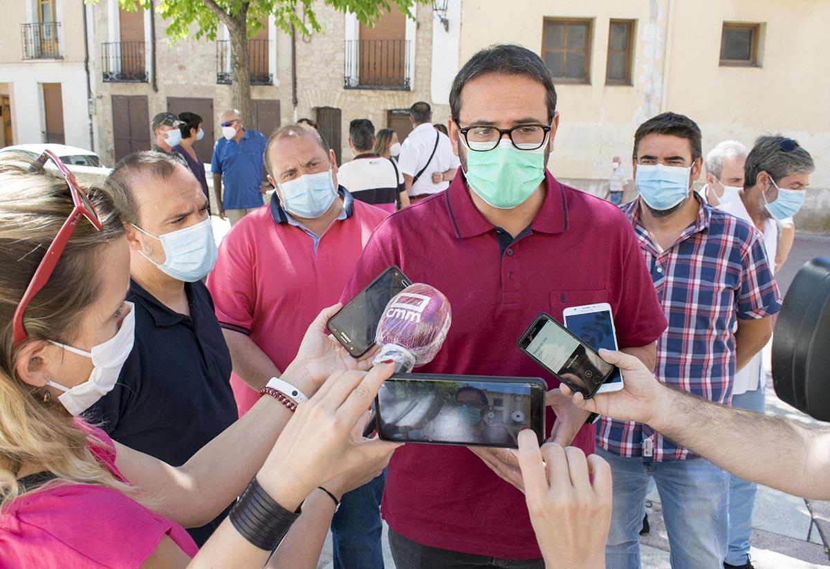 """Por el PSOE, Sergio Gutiérrez ha dicho de Paco Núñez que """"no quiere derrotar al virus"""""""