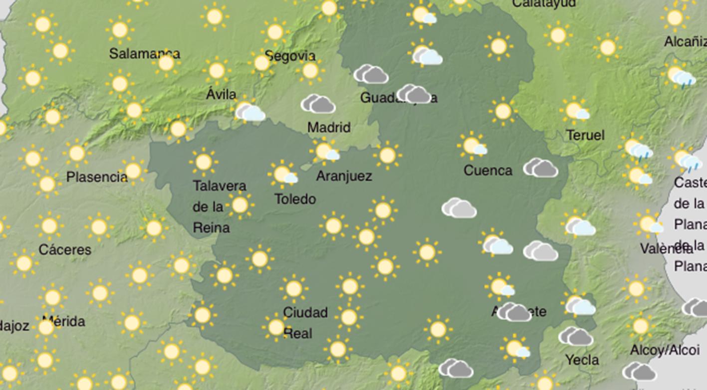 La vida sigue igual en Castilla-La Mancha… al menos respecto a las temperaturas, porque el calor sigue apretando.