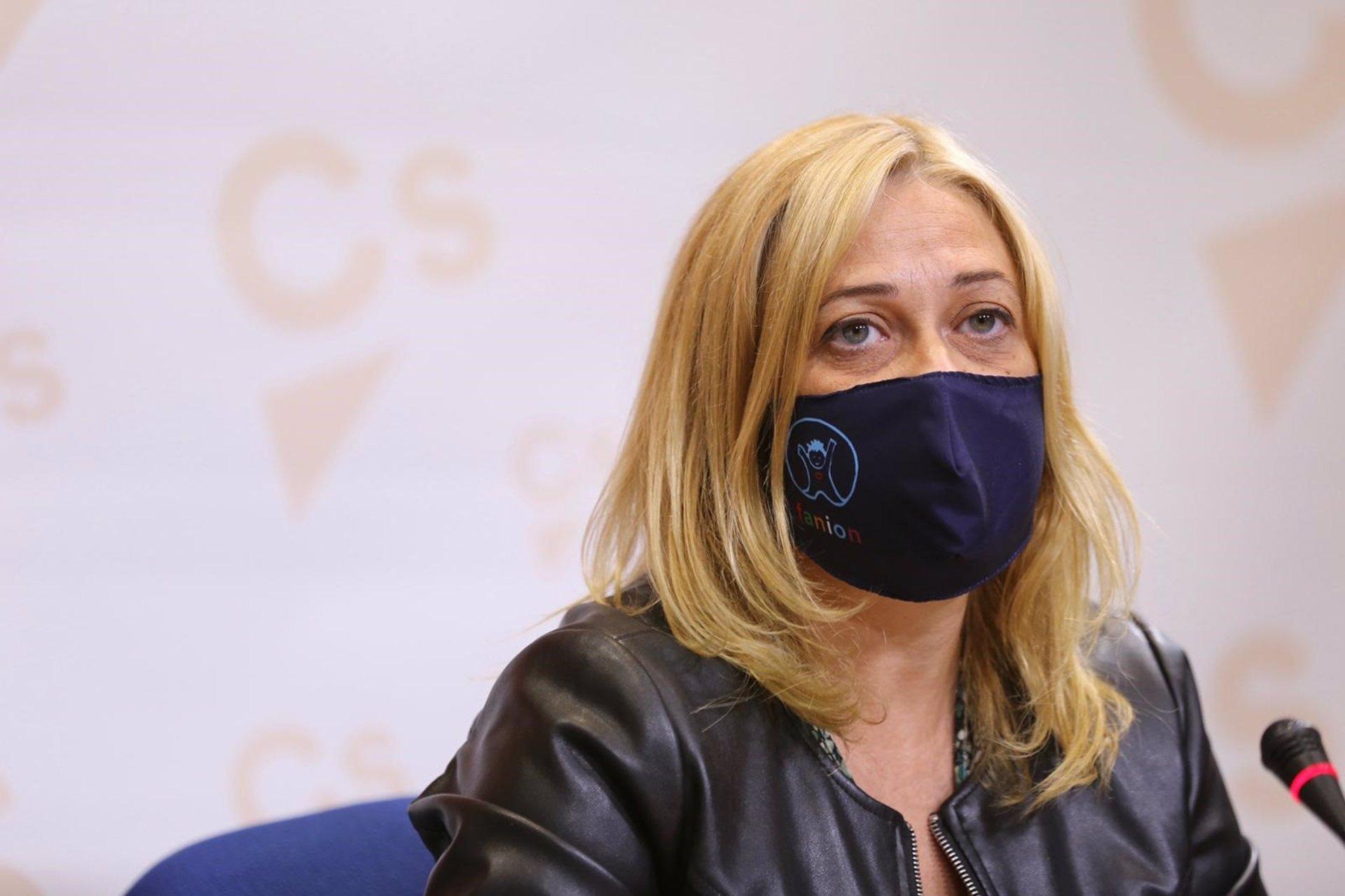 Carmen Picazo, portavoz de Ciudadanos en las Cortes de CLM, propone medidas para la conciliación