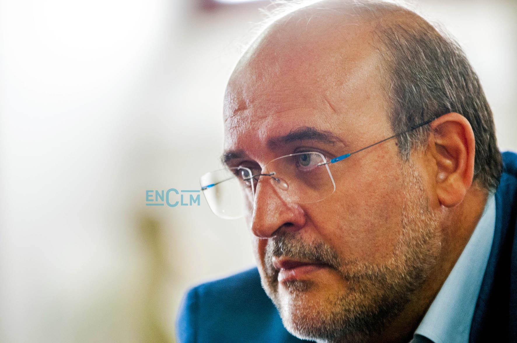 El vicepresidente de Castila-La Mancha, José Luis Martínez Guijarro.