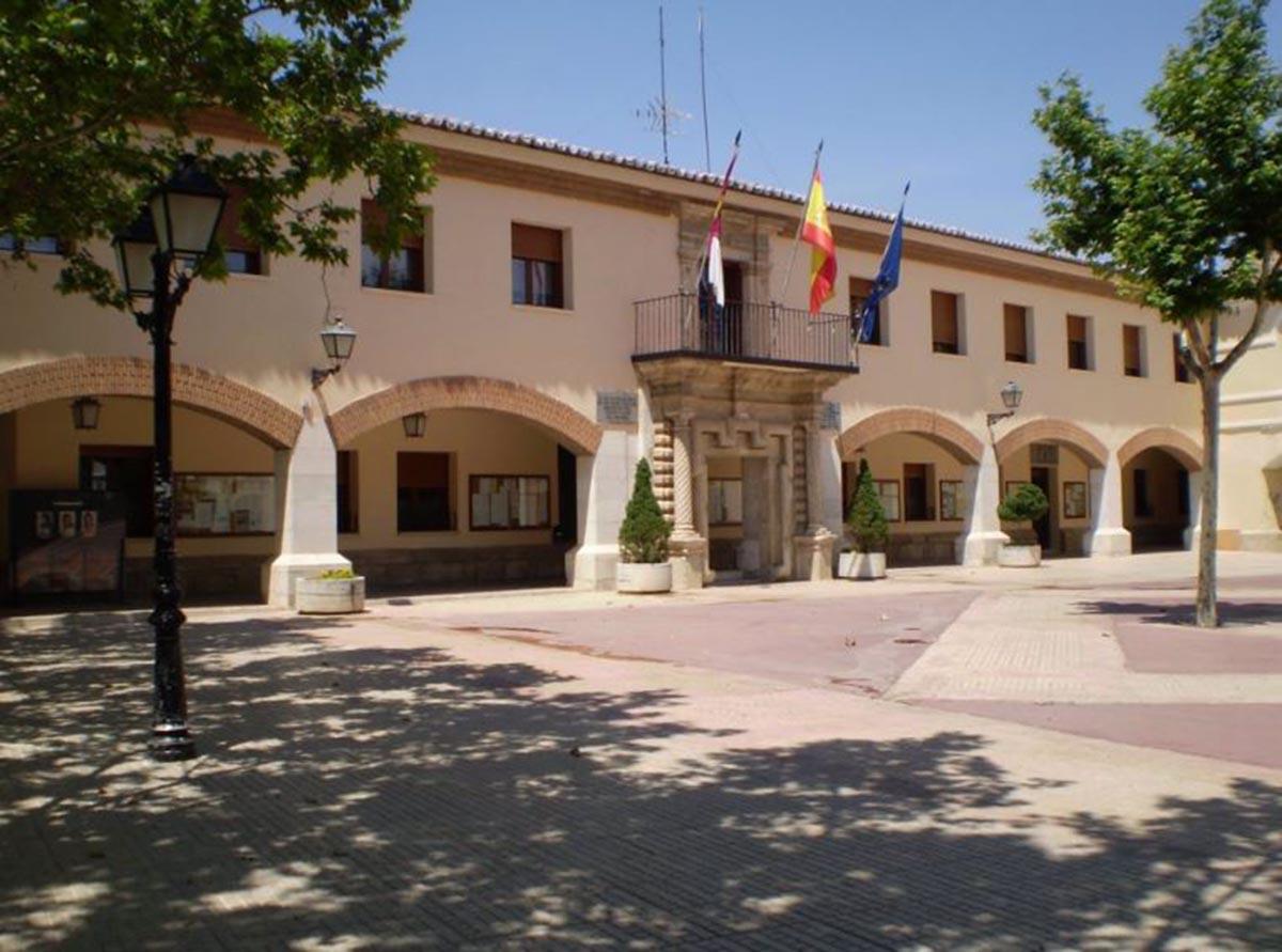 En la foto, Ayuntamiento de Villacañas