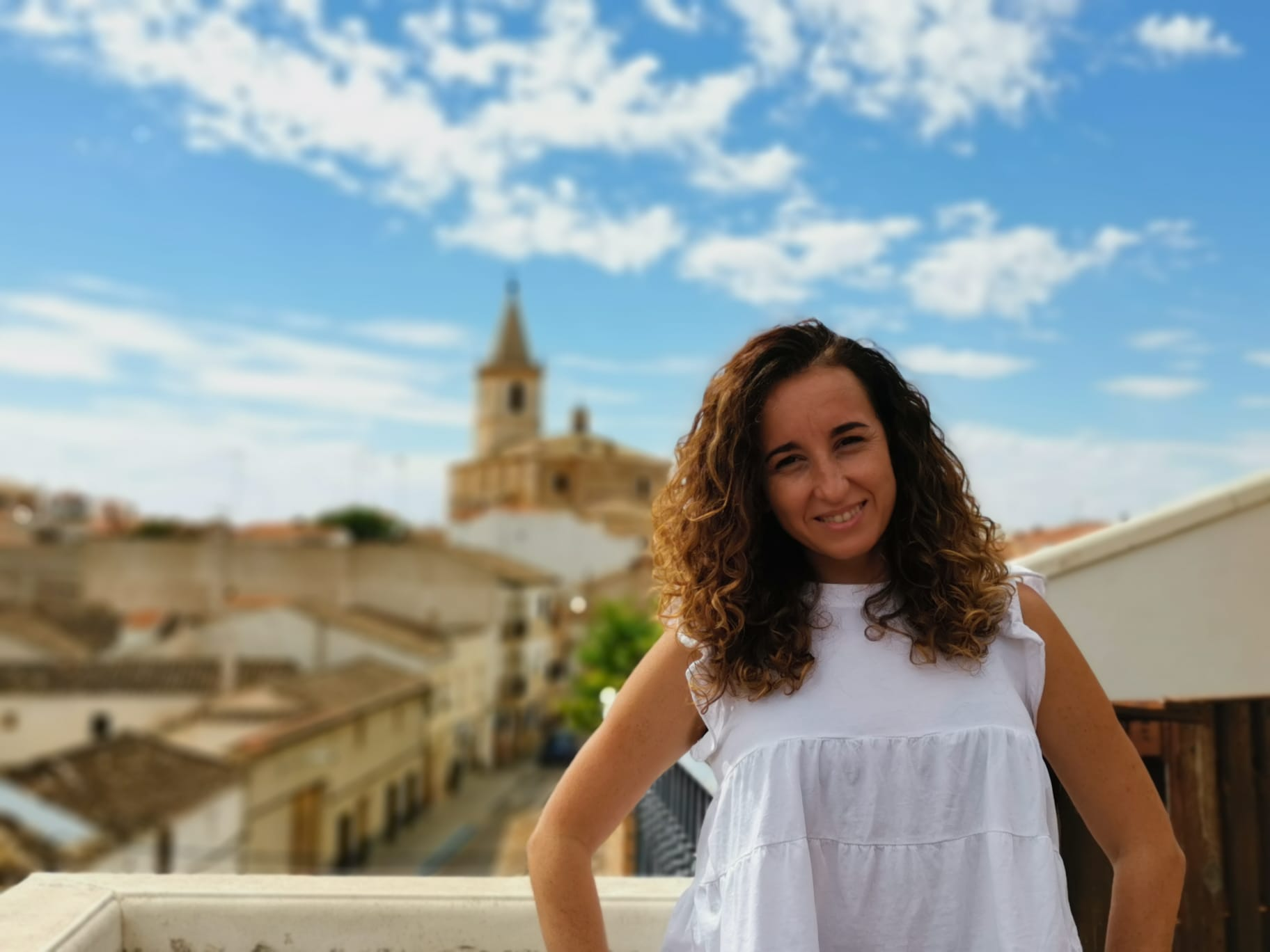 Fuensanta Martínez, profesora del colegio María Auxiliadora de La Roda.