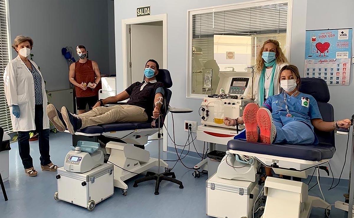 La pandemia no frena sino que anima a los donantes de sangre en CLM