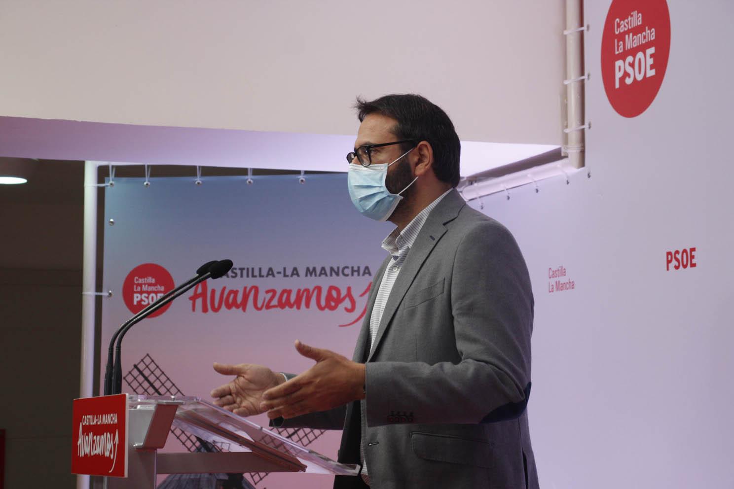 El secretario de Organización de PSOE de CLM, Sergio Gutiérrez.
