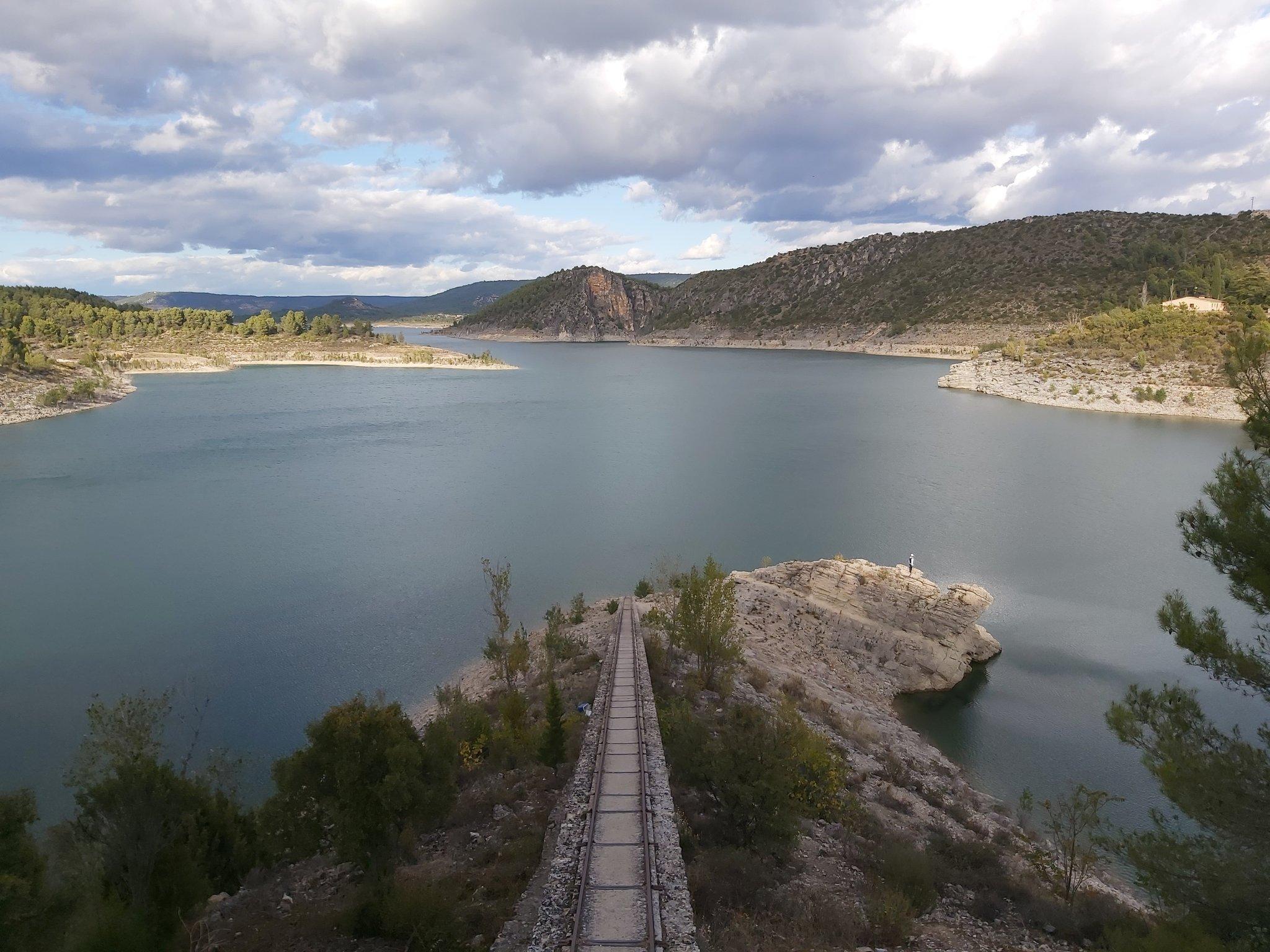 Embalse de Entrepeñas. Foto: Río Tajo Vivo.
