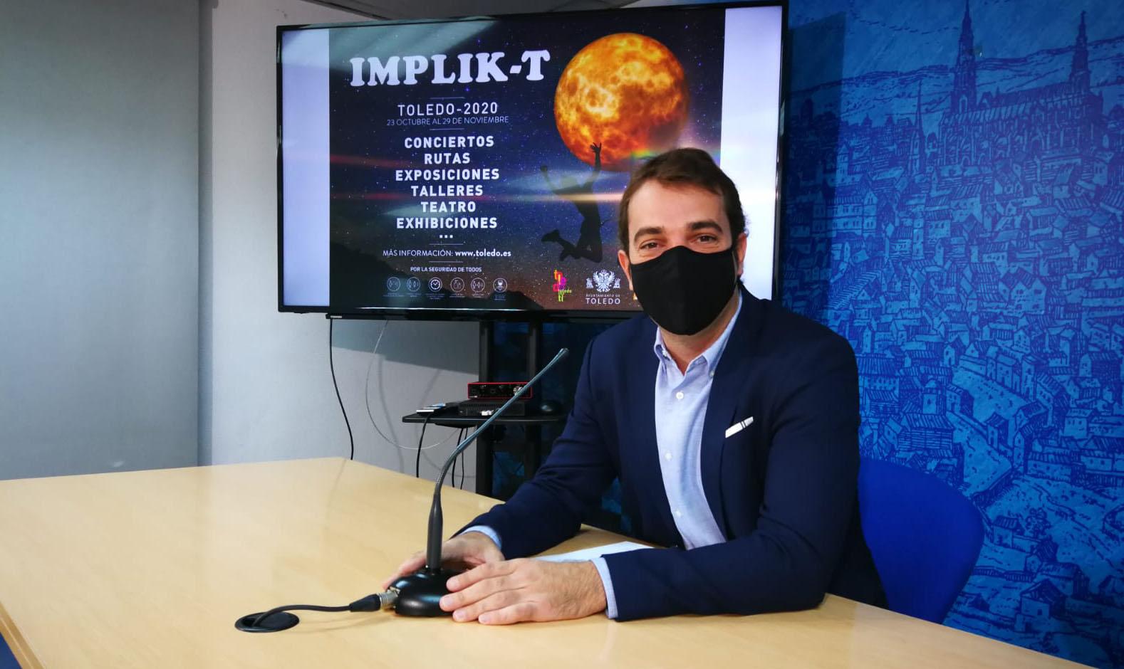 """Pablo García presenta el programa """"Implik-T"""""""