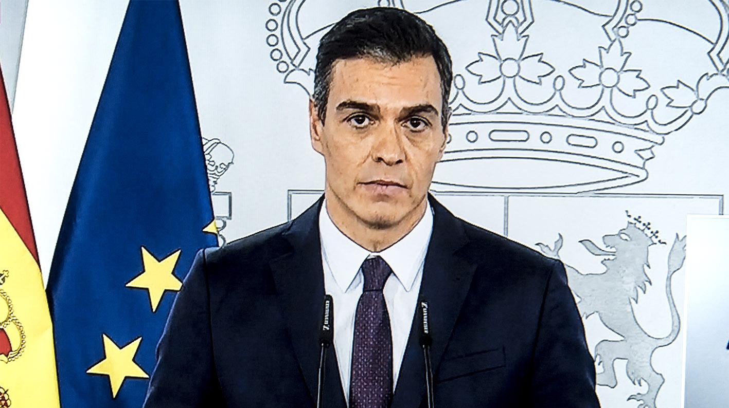 Pedro Sánchez ha instado a evitar contactos y desplazamientos innecesarios.